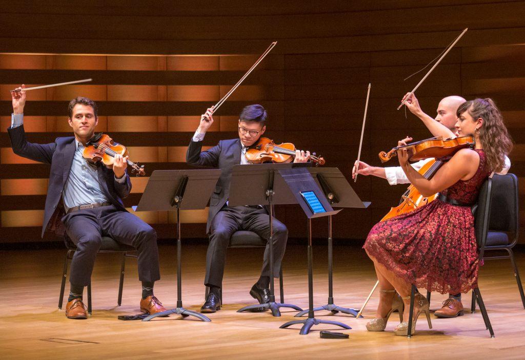 Dover Quartet-July 17 Koerner Hall